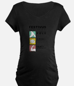 FESTIVUS™ diagram Maternity T-Shirt
