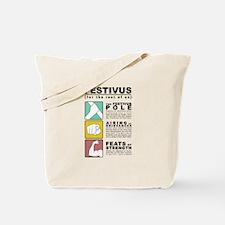 festivus diagram Tote Bag