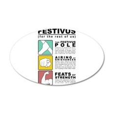 festivus diagram Wall Decal