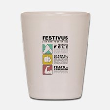 FESTIVUS™ diagram Shot Glass
