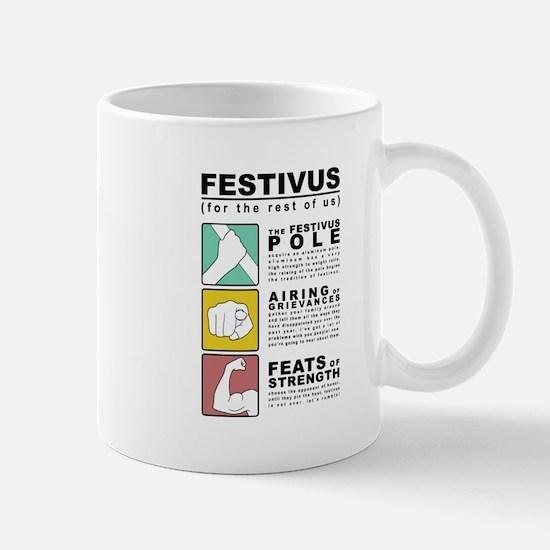 FESTIVUS™ diagram Mugs