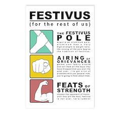 FESTIVUS™ Diagram Postcards (package Of 8)