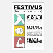 FESTIVUS™ Diagram Postcards (package Of 8)