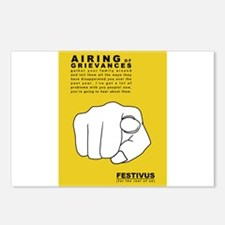 FESTIVUS™ airing of grievances Postcards (Package