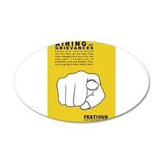 FESTIVUS™ airing of grievances Wall Decal