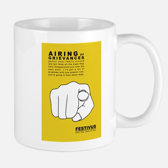 FESTIVUS™ airing of grievances Mugs