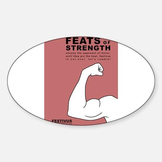 FESTIVUS™ feats of strength Decal
