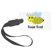 Personalizable Honey Bee Luggage Tag