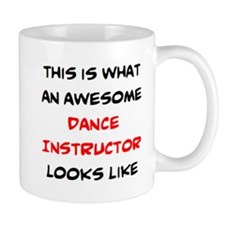 Awesome Dance Instructor Mug Mugs
