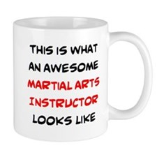 Awesome Martial Arts Instructor Mug Mugs