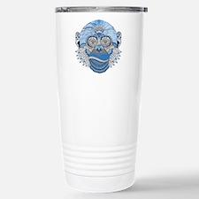 Blue Monkey Stainless Steel Travel Mug
