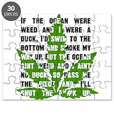 Weed Poem Puzzle