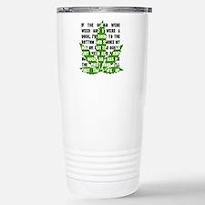 Weed Poem Travel Mug