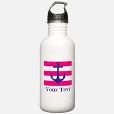 Personalizable Anchor Water Bottle