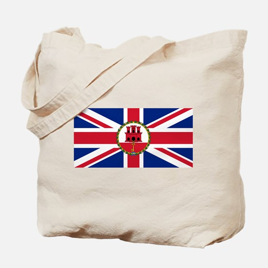 Gibraltar Governor Flag Tote Bag