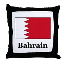 Bahrain Throw Pillow