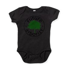 Cute Leaves Baby Bodysuit