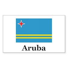 Aruba Rectangle Decal
