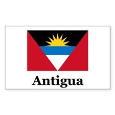 Antigua Rectangle Decal
