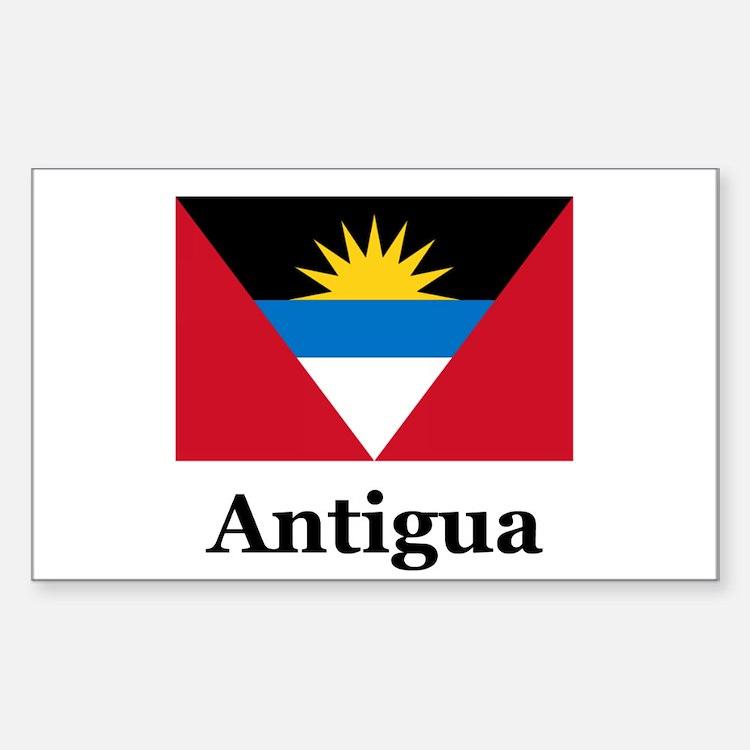 Antigua Rectangle Decal