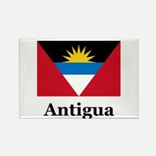 Antigua Rectangle Magnet
