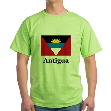 Antigua Green T-Shirt