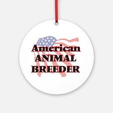 American Animal Breeder Round Ornament