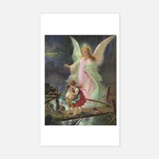 Victorian Angel Rectangle Decal