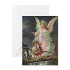 Victorian Angel Greeting Card