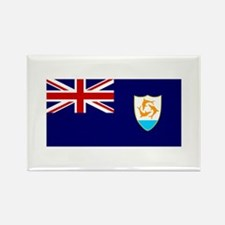 Anguilla Rectangle Magnet
