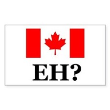 Canada, Eh? Rectangle Decal