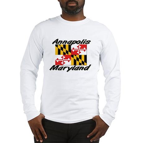 Annapolis Maryland Long Sleeve T-Shirt