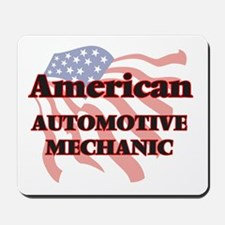American Automotive Mechanic Mousepad