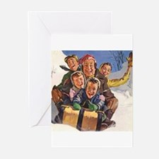 Unique Christmas vintage Greeting Cards (Pk of 20)