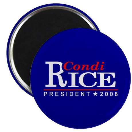 "CONDI RICE PRESIDENT 2008 2.25"" Magnet (100 pack)"