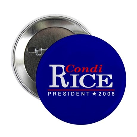 """CONDI RICE PRESIDENT 2008 2.25"""" Button (100 pack)"""