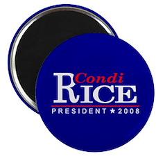 CONDI RICE PRESIDENT 2008 Magnet