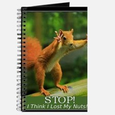 squirrel lost his nuts 2 Journal