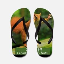 squirrel lost his nuts 2 Flip Flops