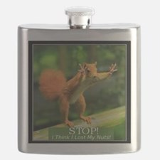 squirrel lost his nuts 2 Flask
