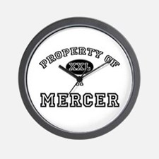 Property of a Mercer Wall Clock