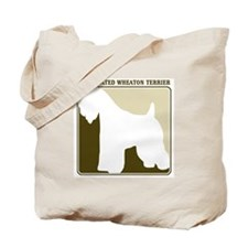 Professional Soft Coated Whea Tote Bag