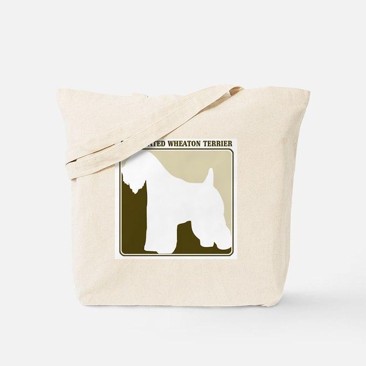 Professional Soft Coated Whea Tote Bag