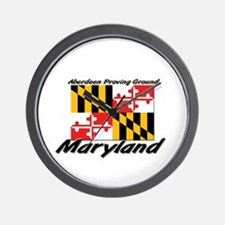 Aberdeen Proving Ground Maryland Wall Clock