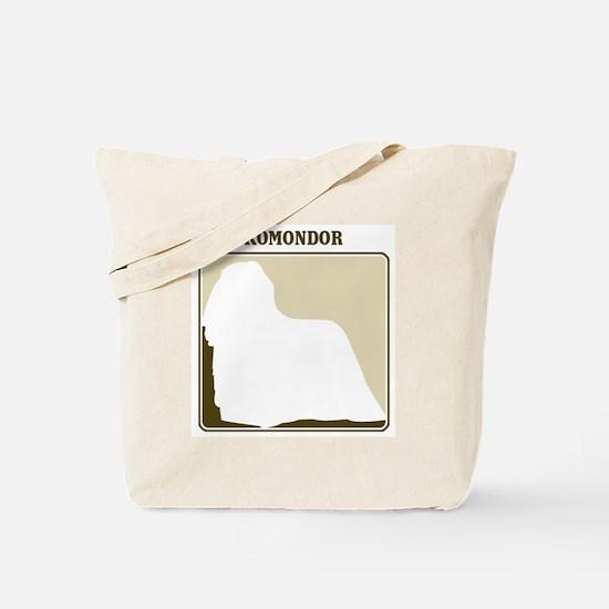 Professional Komondor Tote Bag