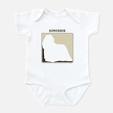Professional Komondor Infant Bodysuit
