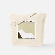 Professional Skye Terrier Tote Bag
