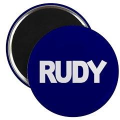 RUDY GIULIANI PRESIDENT 2008 Magnet