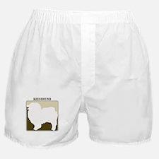 Professional Keeshound Boxer Shorts