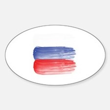 Cute Petersburg girl Sticker (Oval)